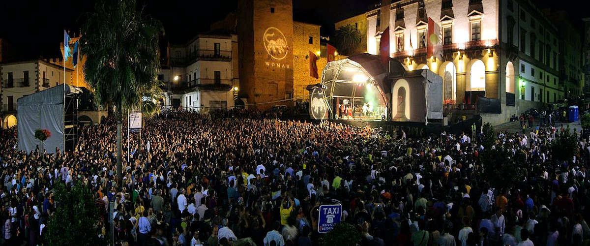 WOMAD en Cáceres