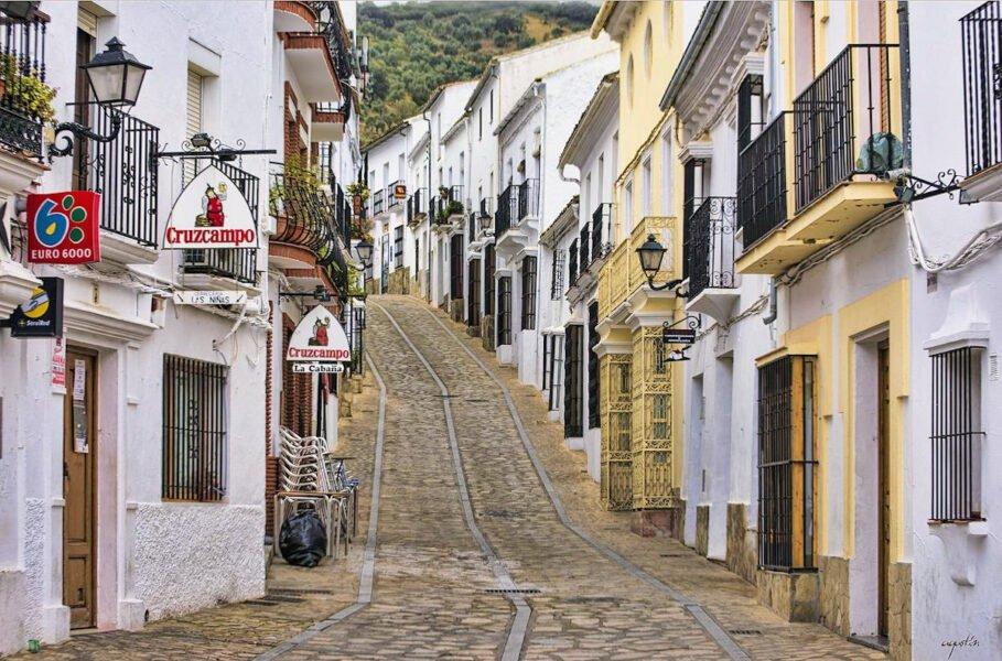 Zahara de la Sierra en Cádiz