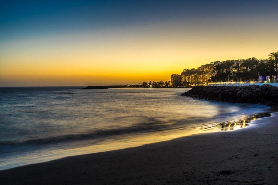 Playa Anfi del Mar. Gran Canaria
