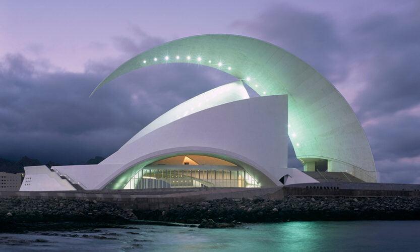 Qué ver en Santa Cruz de Tenerife - Auditorio de Tenerife