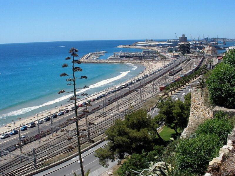 Panorámica desde el balcón mediterráneo