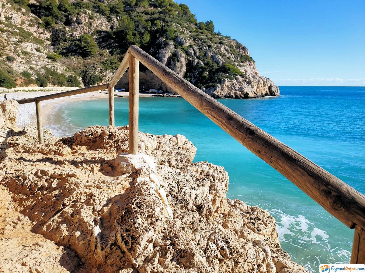 CALA GRANADELLA » Una playa única en Javea