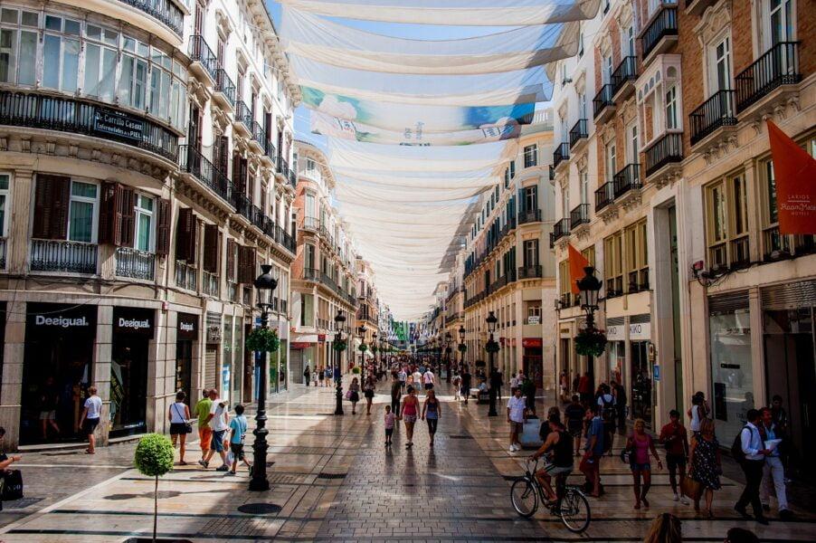 Calle Marqués de Larios. Málaga