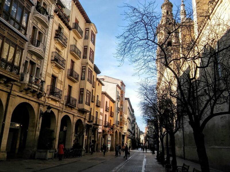 Calle Portales. Logroño