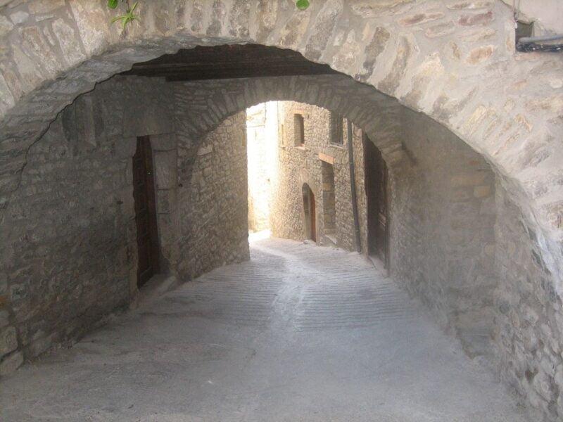 Calle típica de Roda de Isábena