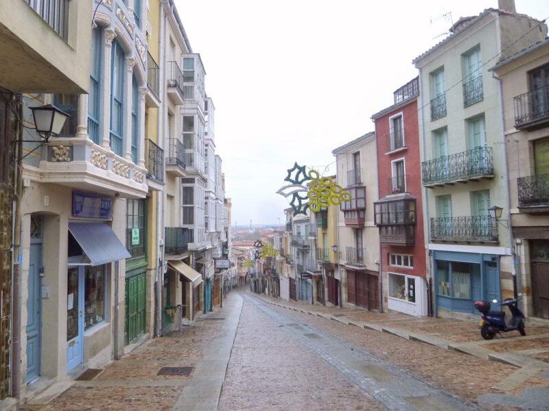 Calle Balborraz. Zamora