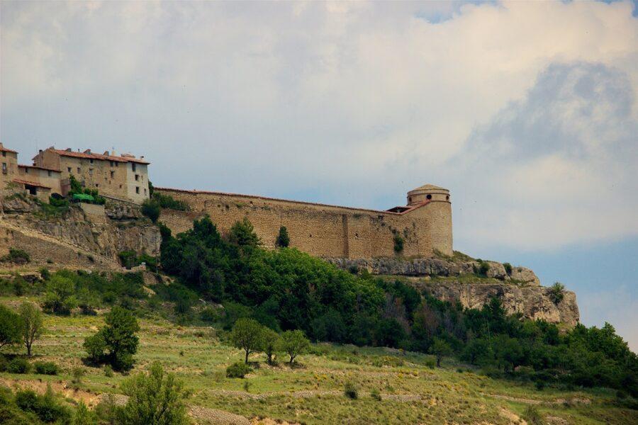 Cantavieja. Pueblo de Teruel