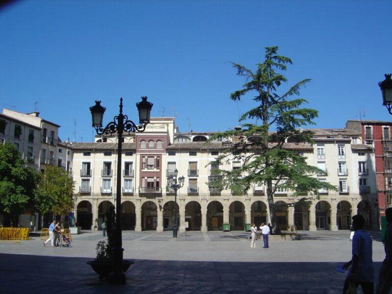 Plaza del Mercado. Logroño