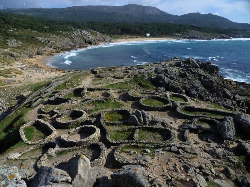 Praia Castro de Barona. A Coruña