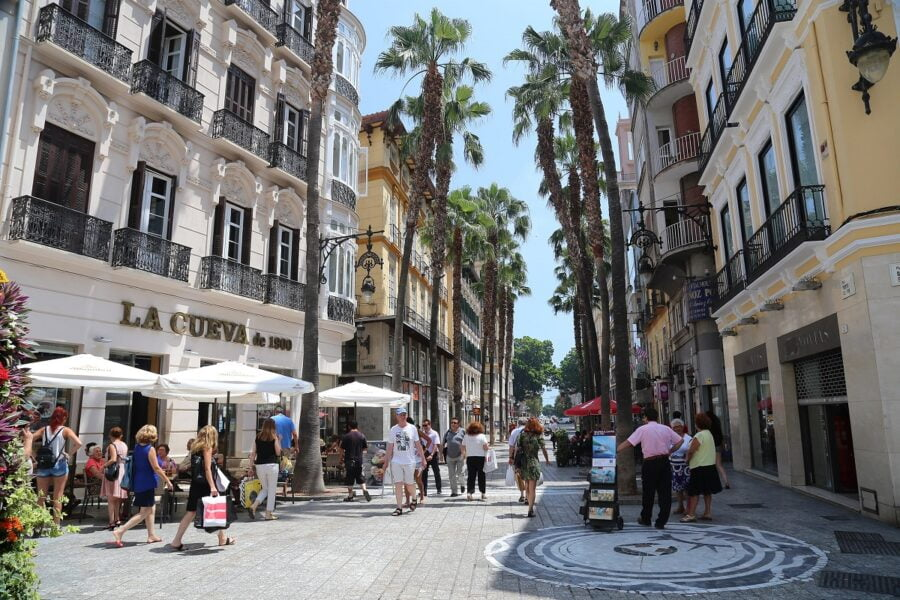 Centro histórico. Málaga