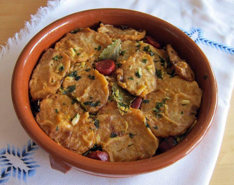 Cocina palentina Patatas a la importancia