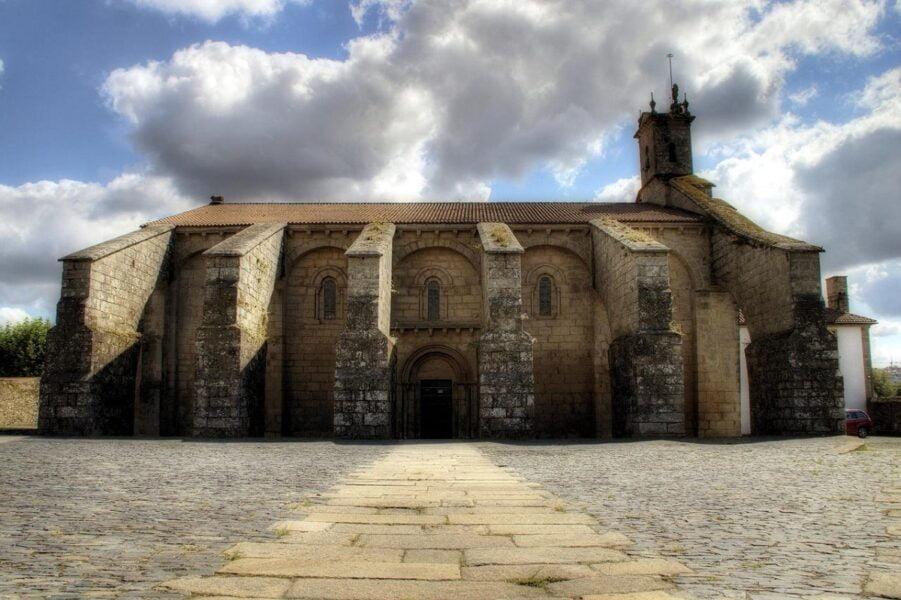 Colegiata de Santa María del Sar. Santiago de Compostela