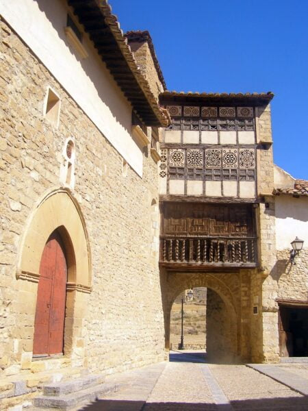 Portal de las Monjas. Mirambel