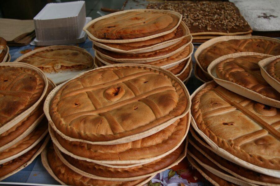 Empanadas gallegas. Plato típico. Lugo