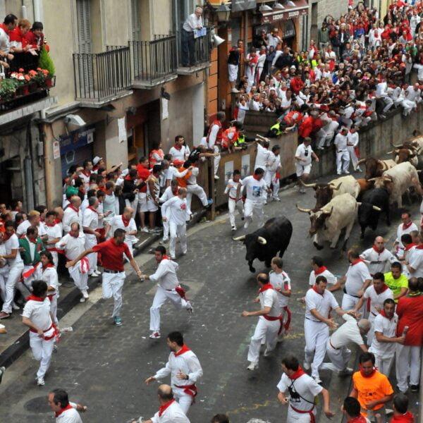 Sanfermines. Pamplona