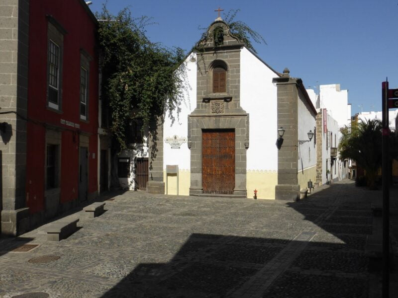 Ermita y plaza de San Antonio Abad. Las Palmas