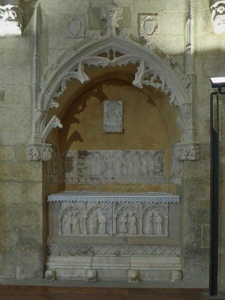Iglesia S.Miguel. Sepulcro de Funes. Cantavieja
