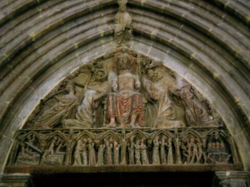Iglesia de san Saturnino, Pórtico. Pamplona