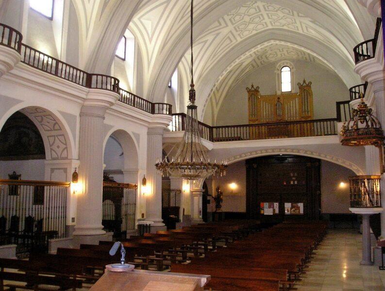 Iglesia del Salvador en Valladolid Interior