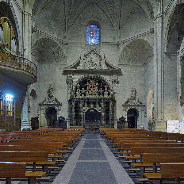 Iglesia de Santiago. Coro. Logroño