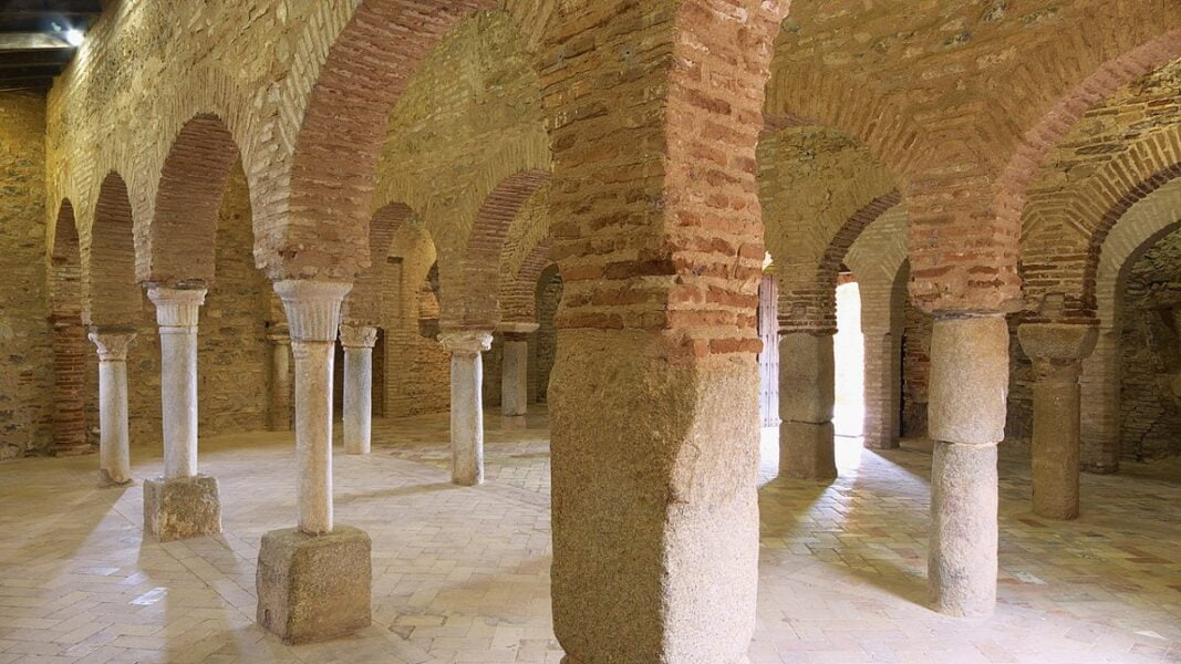 Interior Mezquita de Almonaster la Real. Huelva