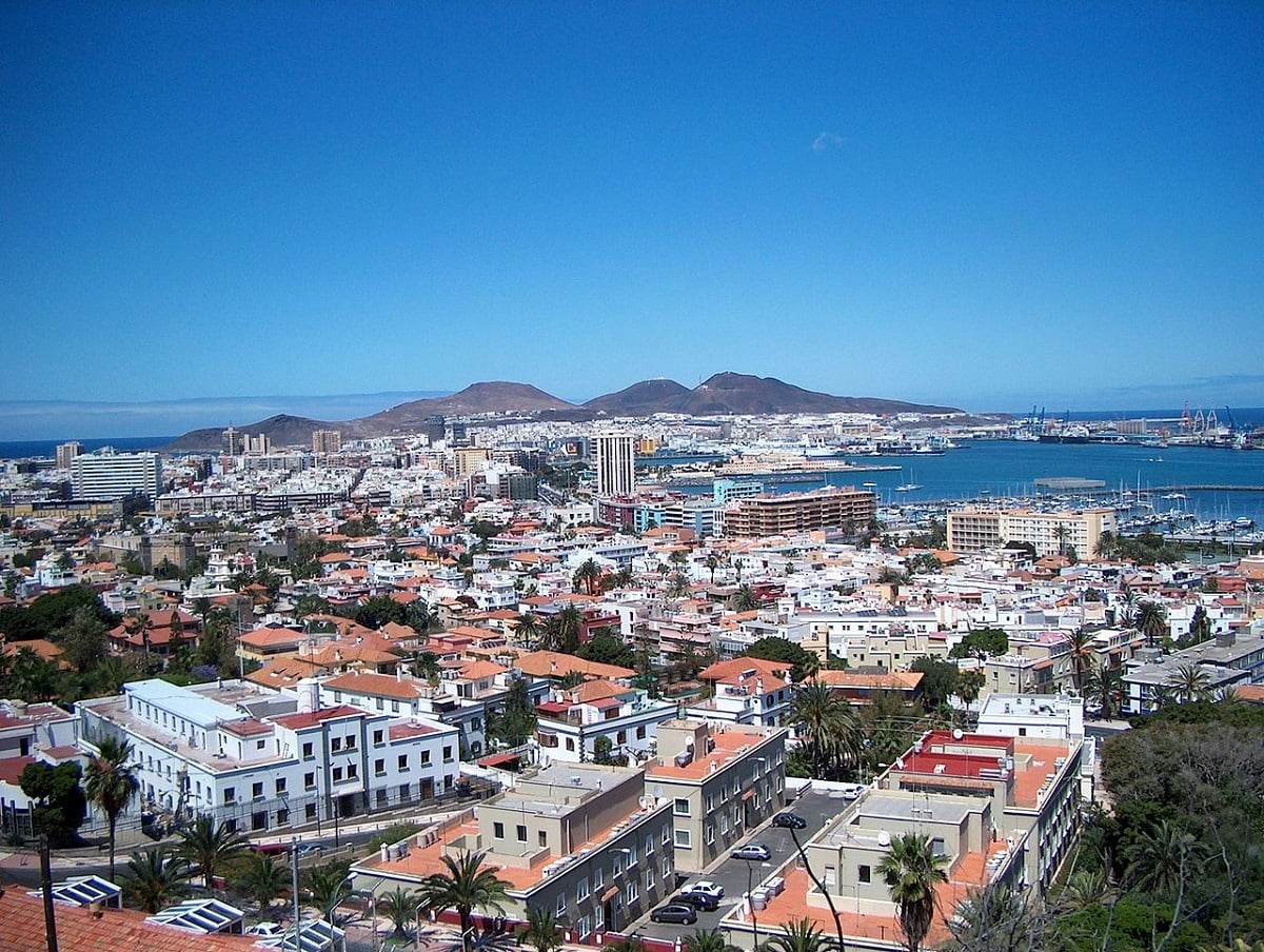 Las Palmas de Gran Canaria. Ciudad de España