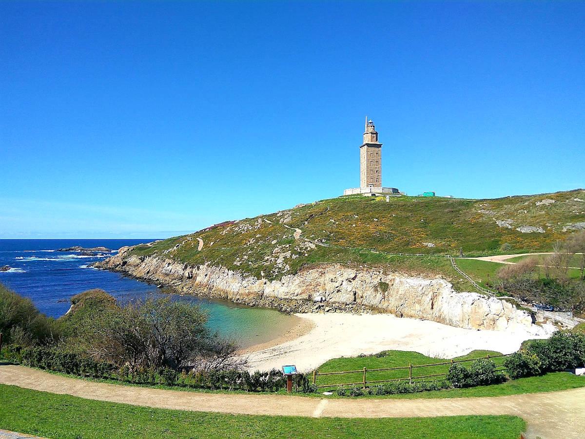 Mapa Turístico de A Coruña