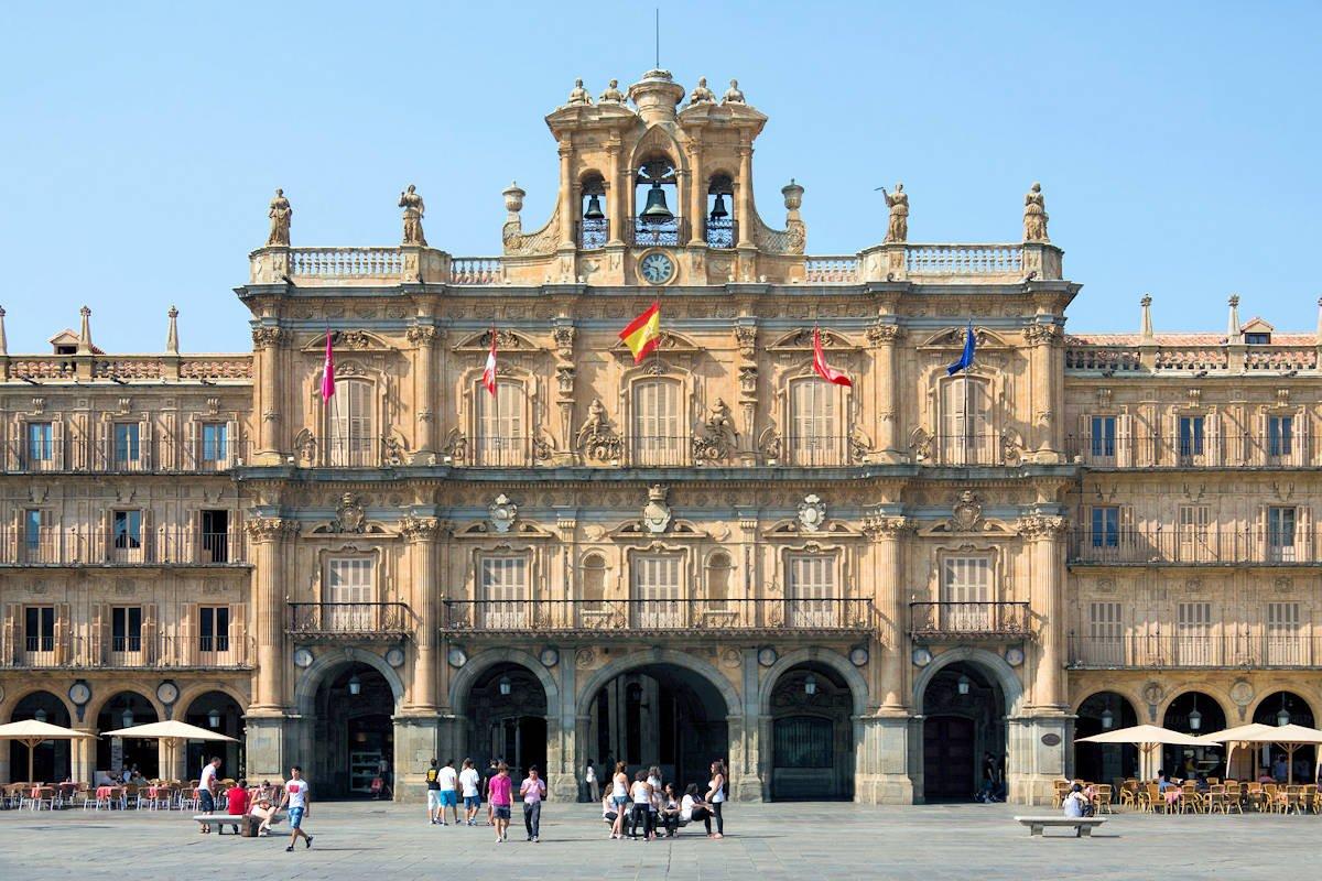 Mapa Turístico de Salamanca