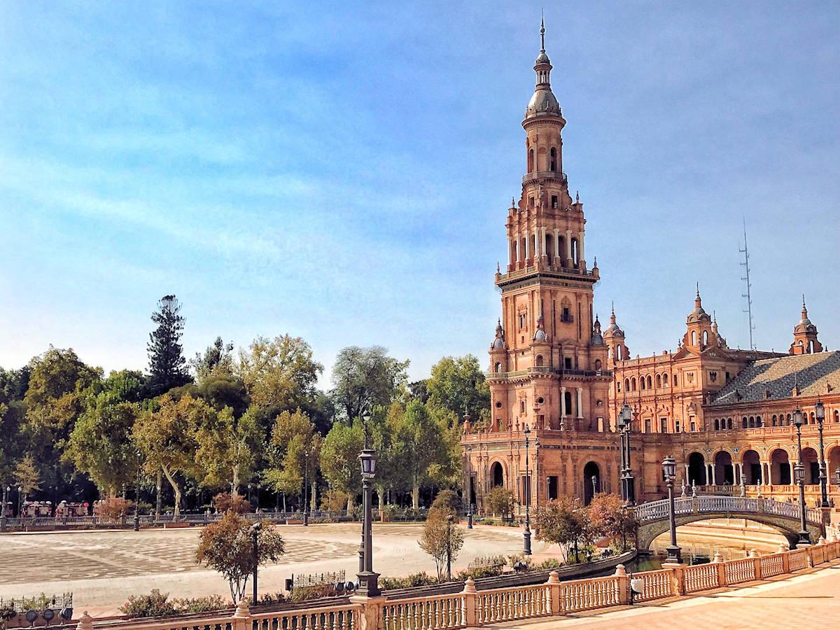 Mapa Turístico de Sevilla
