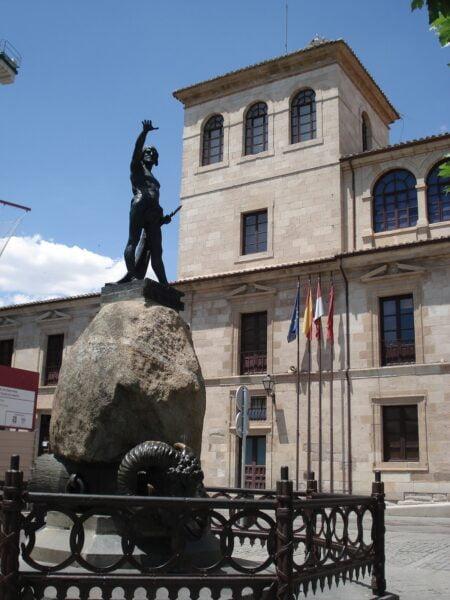 Monumento a Viriato.Zamora