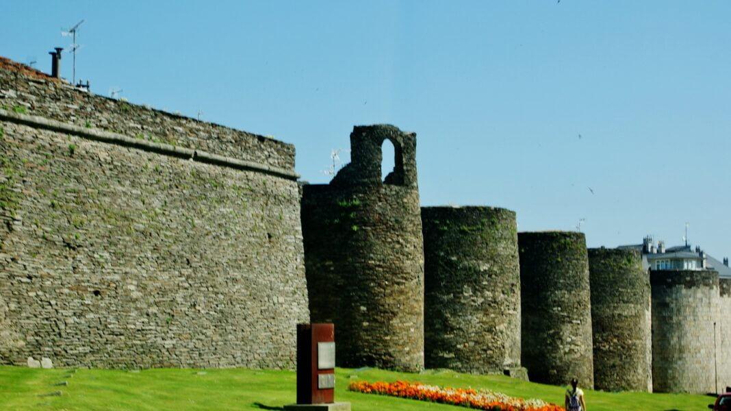 Muralla romana. Lugo