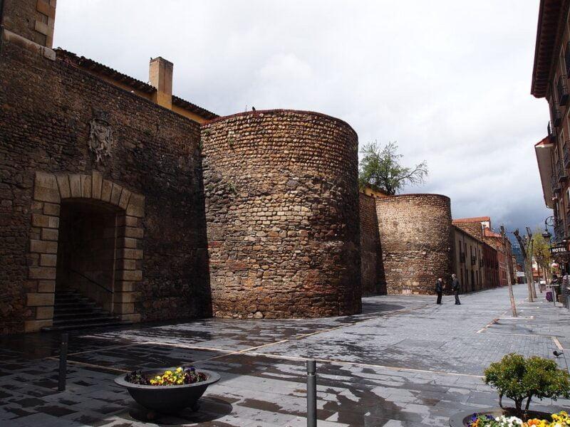 Murallas romanas de León