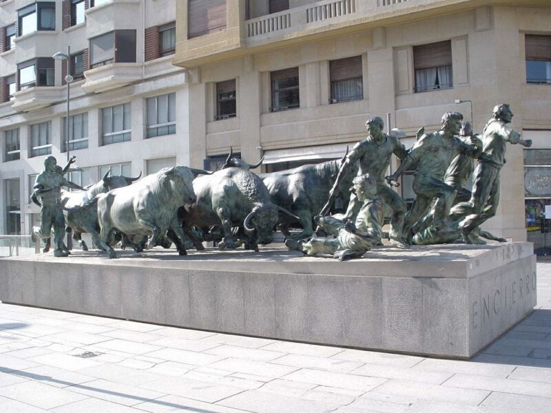 Monumento al Encierro.Pamplona