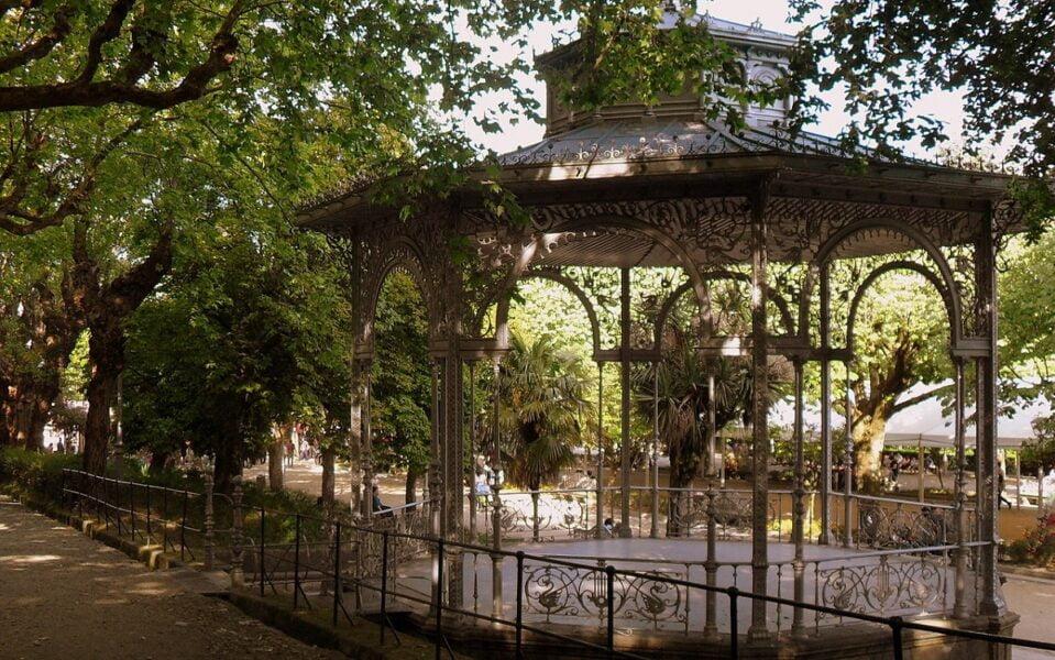 Parque de la Alameda. Santiago de Compostela