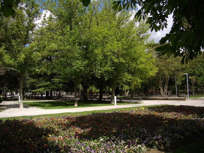 Parque de El Salón de Isabel II Palencia