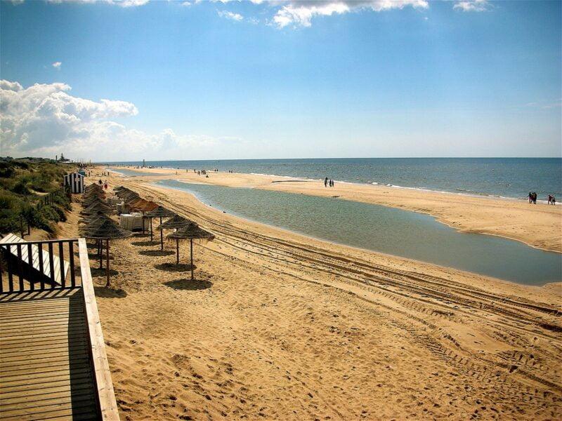 Playa de Islantilla Huelva