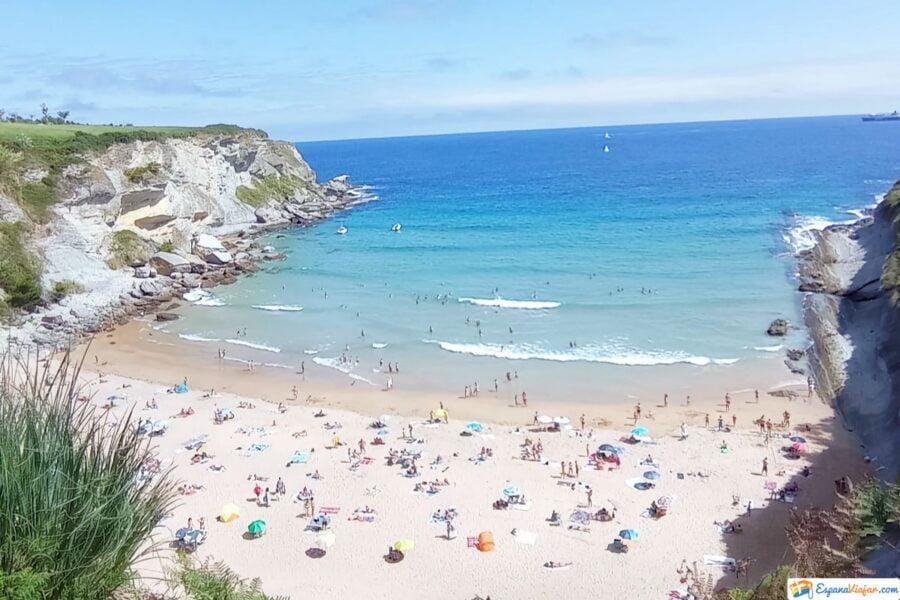 Playa de Mataleñas en Cantabria