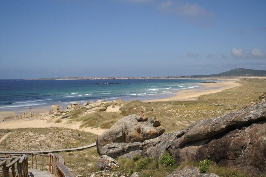Playa do Vilar. A Coruña