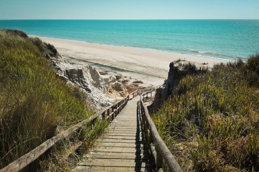 Playa Cuesta Maneli Huelva