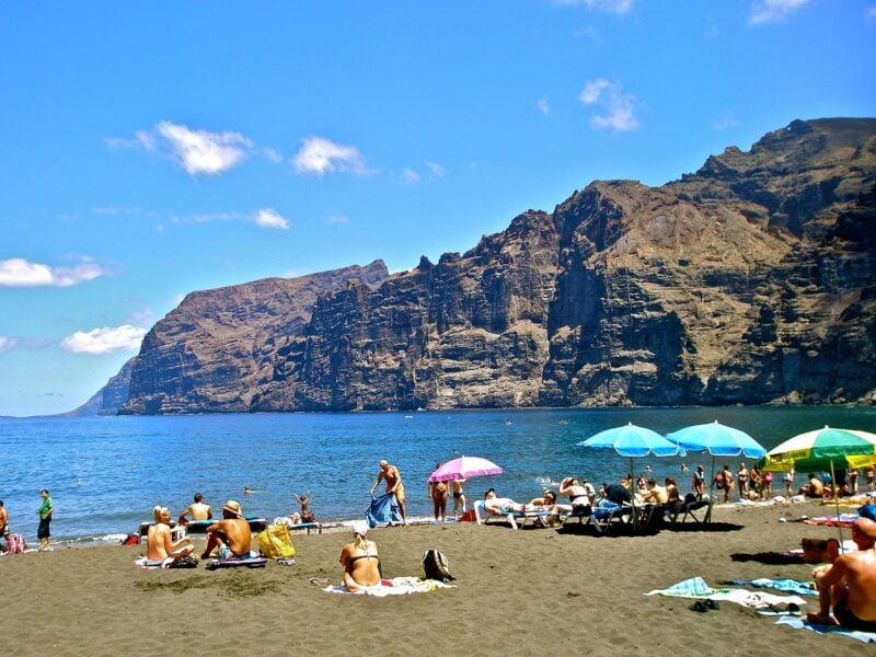 Playa de los Gigantes. Tenerife