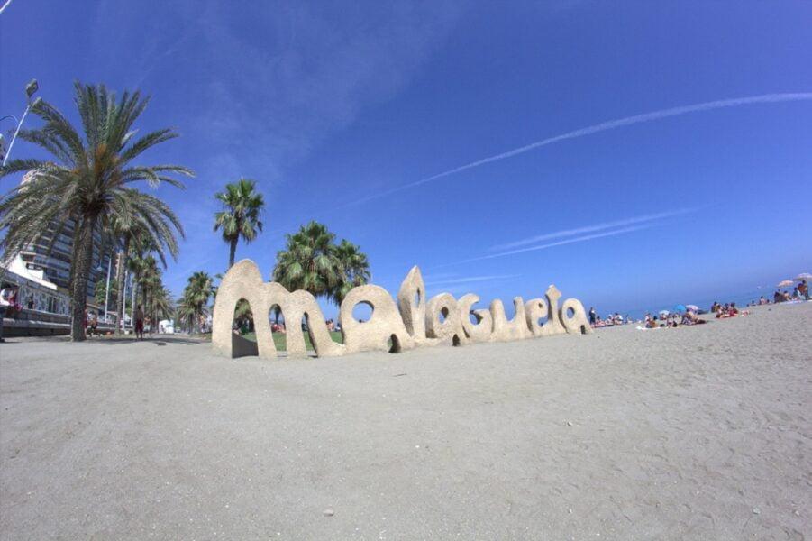 Playa Malagueta. Málaga