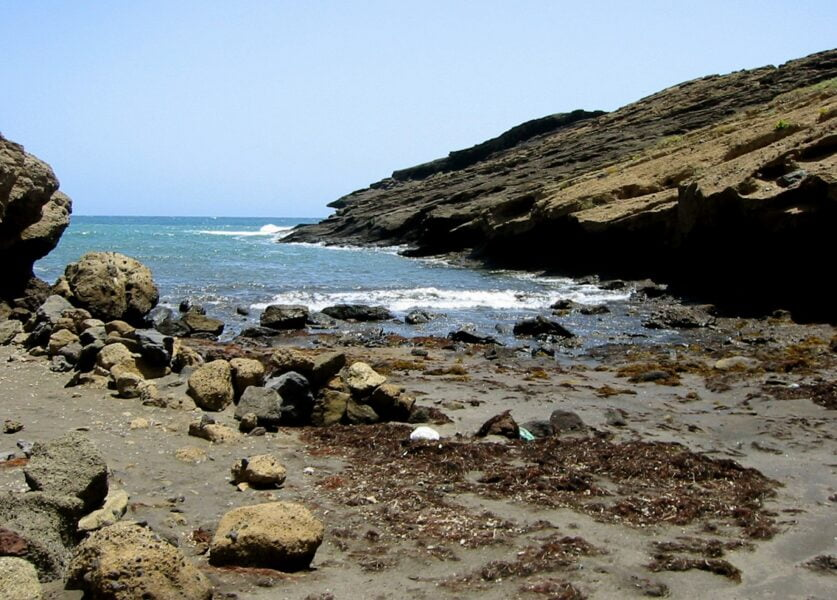 Playa de la Montaña Pelada.Tenerife