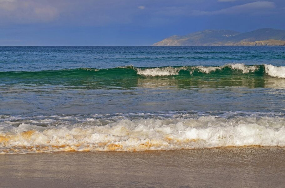 Playa de A Frouxeira. A Coruña
