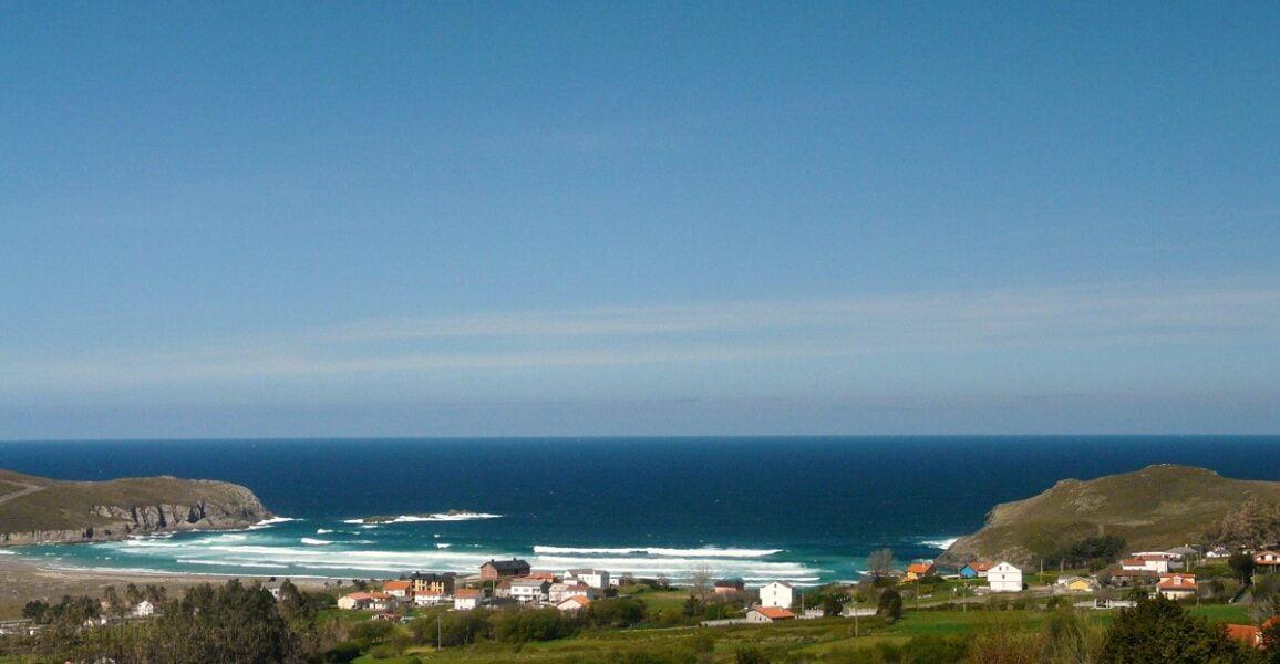 Playa de Pantin. A Coruña