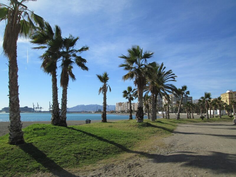 playa de la Caleta. Málaga