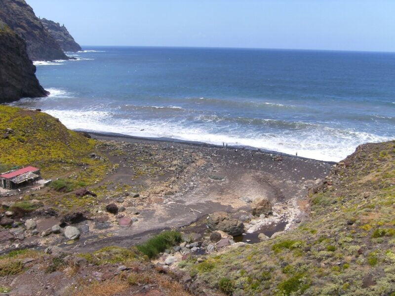 Playa del Tamadiste. Tenerife