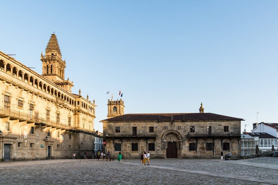 Plaza del Obradoiro. Santiago de Compostela
