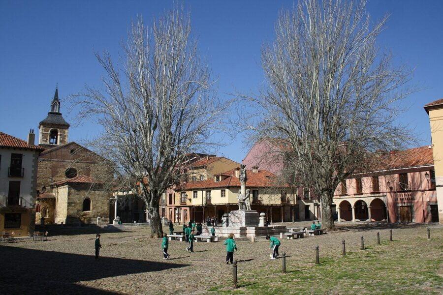 Plaza del Grano León