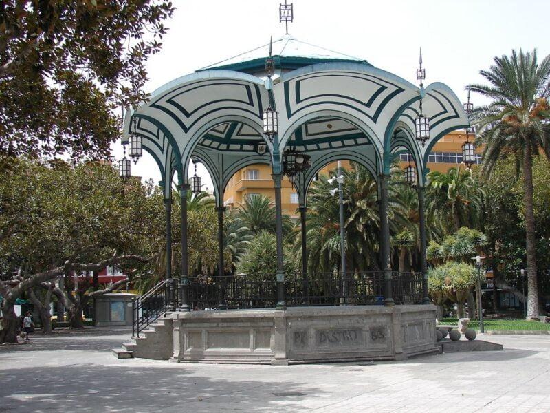 Plaza San Telmo.Las Palmas