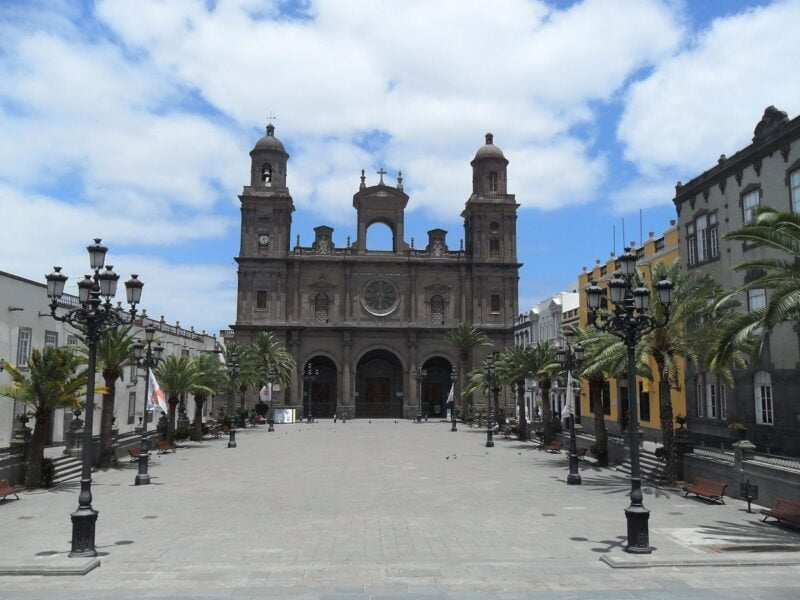 Plaza Santa Ana. Las Palmas